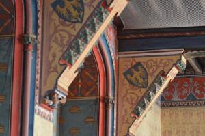 Viollet-le-Duc, Decoration interieure du chateau de Pierrefonds, XIXe siècle