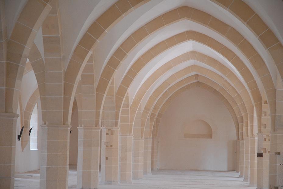 Abbaye de Clairvaux, bâtiment des convers © DRAC Grand Est