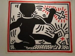 keith-haring-free-south-africa-1985-affiche