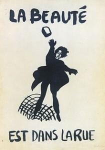 affiche-de-1968-la-beaute-est-dans-la-rue