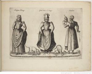 Jean-Jacques Boissard, Recueil de costumes étrangers, gravure, après 1581, Paris, BnF.