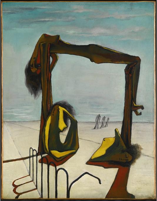 Ramsès Younan, Sans titre, 1939, huile sur toile, collection particulière