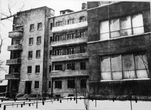 Fig. 2. Appartements construits en 1931, Album de l'Union des artistes, © Archives du MOSSKh.