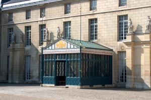 Fig. 10. Rueil-Malmaison, château de Malmaison, vestibule d'entrée (état en 2014).